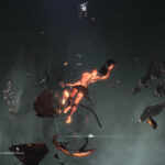 corpse in space of eve online