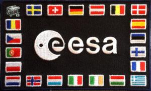 Giant Secure Container ESA Partnerprogramm Astronauten Patch