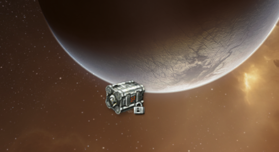 EVE Online Screenshot Container floating in space